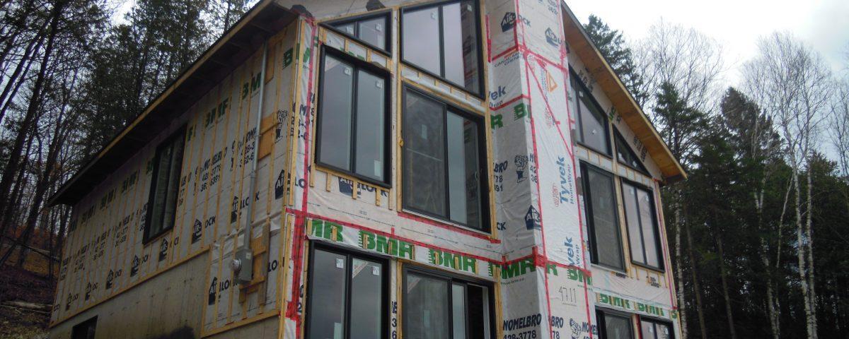 Chalet neuf réalisé par Construction Durab