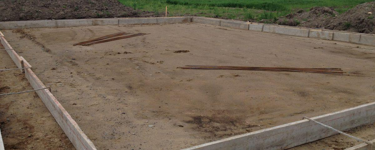 Excavation des fondations