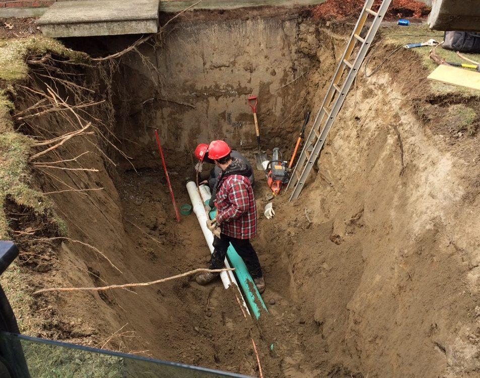 projets d'excavation, Réalisations