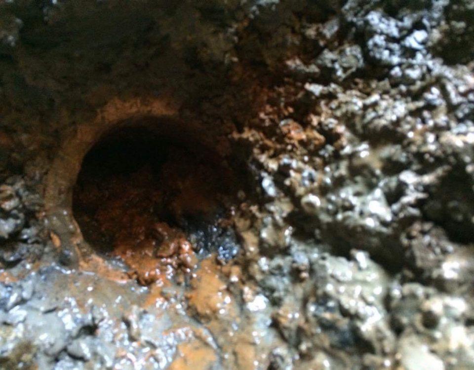 inspection de drain
