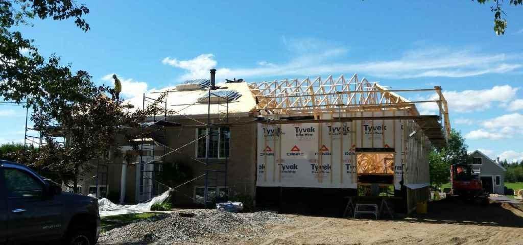 Grande maison en pleine rénovation pour agrandissement