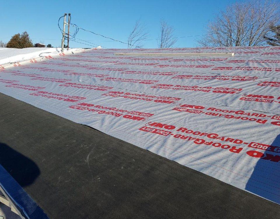 Chantier réfection de toiture