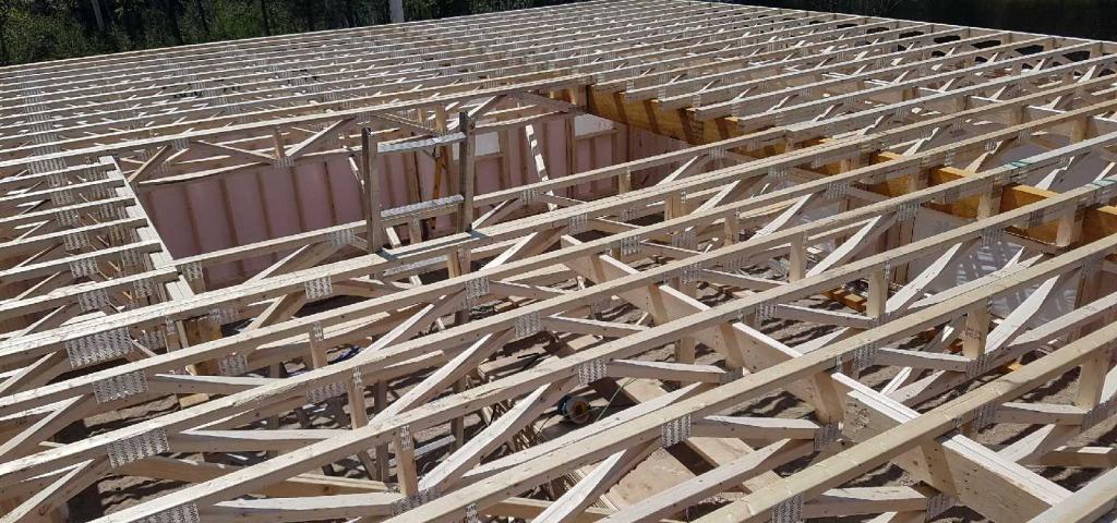 Structure de toit
