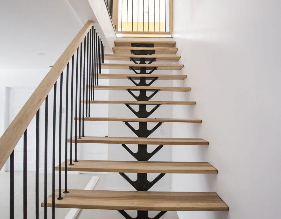 Construction générale intérieur escalier