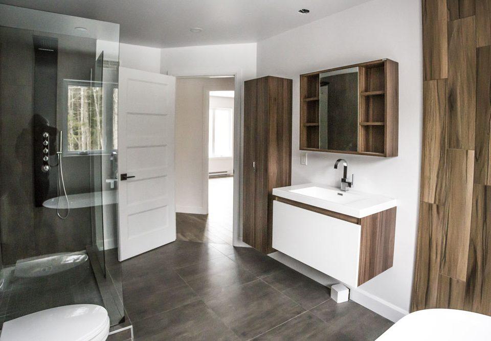 Construction générale - salle de bain